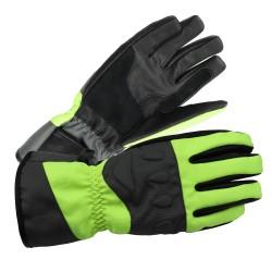 Akuma Textil-Leder Handschuh